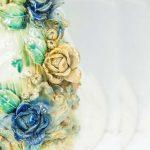 Chi tiết hoa trên minh phượng hoàng phong thủy